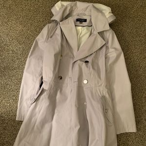 Never worn! Flared Grey Trench Coat
